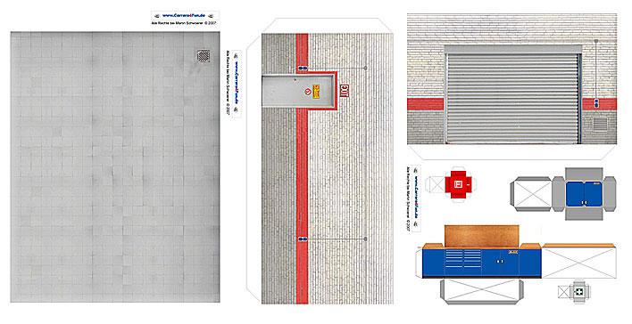 Scratch dioramas scratch sur proto slot kit cr ateur for Location de box garage